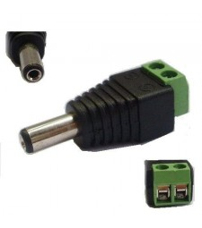 CONECTOR MACHO 2.1MM jack