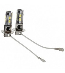 H3 10 SMD LED CON LUPA DE CRISTAL