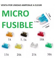 Micro Fusibles de Coche Furgoneta Camión Tipo Cuchilla