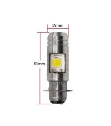 BOMBILLA LED P15D PX15D H6M H6 MOTO