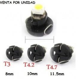 BOMBILLA LED T3 T4.2 T4.7 MARCADOR CUADRO TABLERO