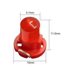 Bombilla T4.2 Led Cob Luz Marcador Cuadro Reloj Coche Moto Furgoneta