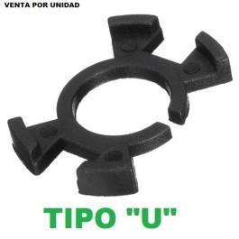 ADAPTADOR PORTALAMPARAS KIT LED XENON H1 TIPO U HONDA