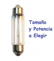 Bombilla Halógena c3w c5w c7w c10w Tipo Fusible