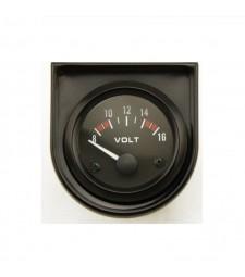 Reloj Gauge Voltios Batería Universal Coche Racing