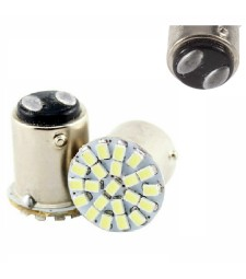 BOMBILLA 1157 BAY15D 22 SMD LED