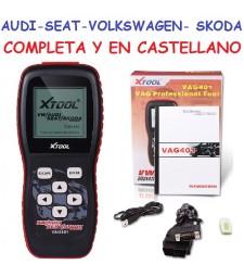 Maquina Diagnosis OBD Grupo Vag VW Audi Seat Skoda Volkswagen Completa