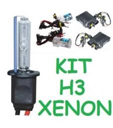 KIT XENON H3 PARA 2 FAROS 35/55W
